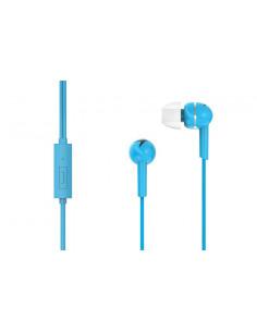 Casti In-Ear Genius cu microfon, smartphone, Albastru 31710006402