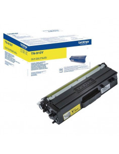 Cartus Toner Original Brother TN910Y Yellow, 9000 pagini