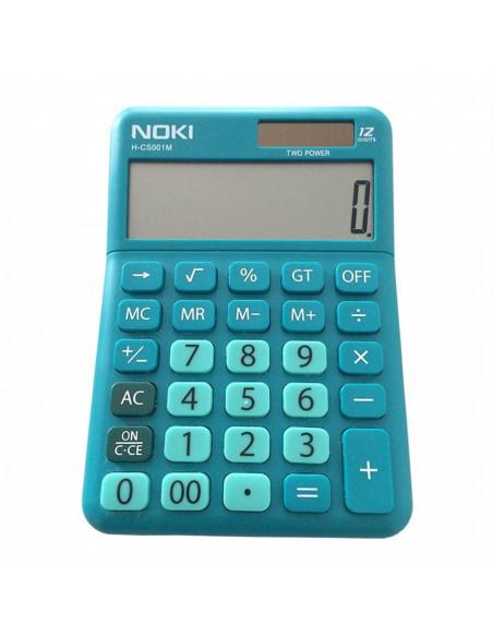 Calculator Birou Noki 12 Digiti Hcs001 Albastru