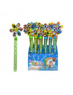 Jucarie baloane de sapun, Floare
