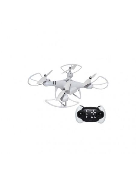 Drona RC cu leduri, 27x27x4,5 cm