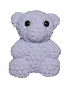 Figurina cauciuc, cu led, Ursulet
