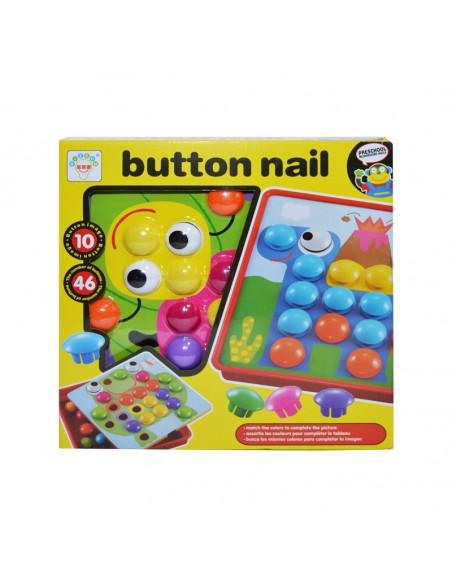 Joc creativitate-mozaic, Button nail