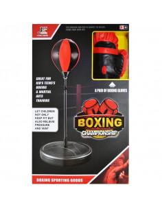 Sac box, suport metalic cu arc si manusi