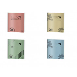 Set 4 caiete Pigna Basic, A4, 48 file, 2 dictando + 2 matematica