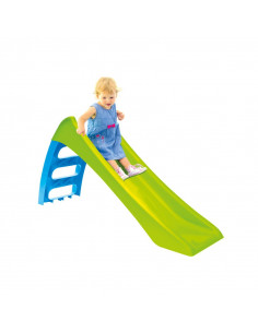 Tobogan Copii Mochtoys Woopie Fun Slide, 116 cm, Verde