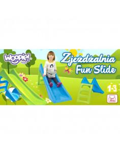 Tobogan Copii Mochtoys Woopie Fun Slide, 116 cm, Albastru