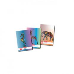 Set 10 Caiete A5, 48 File, 70g/mp, Dictando, Motiv Zentagle