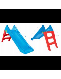 Tobogan copii Mochtoys, 140 cm, Albastru