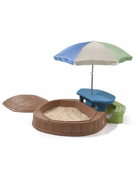 Masuta Step2 cu umbrela, 169 x 145 x 178 cm