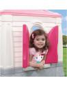 Casuta copii Step2, 118 x 129 x 89 cm, Roz