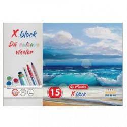 Set Pictura 2 - Acuarele 12 culori DACO, Pahar pictura