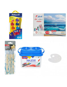 Set Pictura 9 - Acuarele Pelikan Junior, Pahar pictura