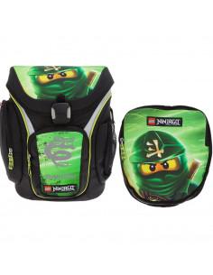 Ghiozdan scoala Explorer + sac sport, LEGO Core Line - design