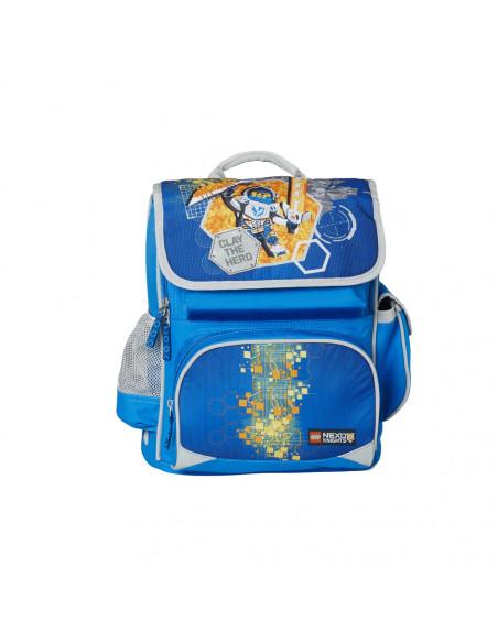 Ghiozdan scoala Premium LEGO Core Line - design bleu Nexo