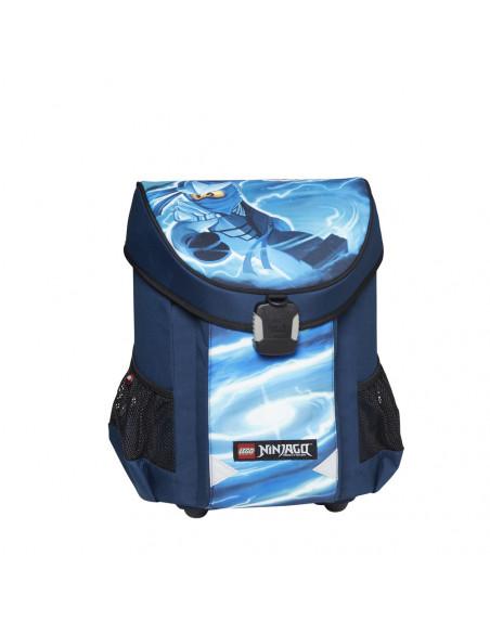 Ghiozdan scoala Easy, LEGO Core Line - design albastru NinjaGo
