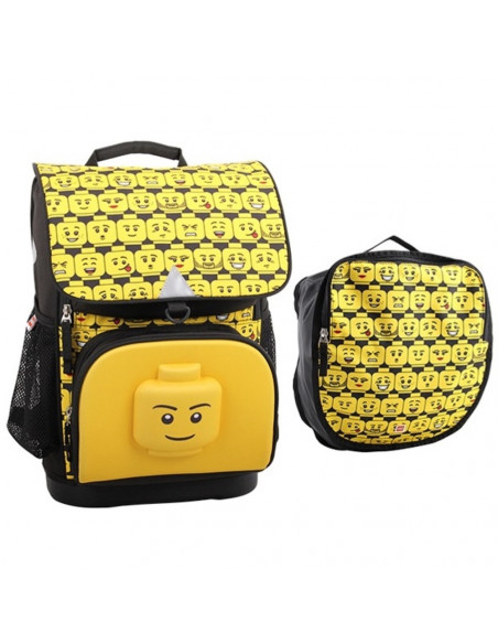 Ghiozdan scoala Optimo + sac sport, LEGO Core Line - design