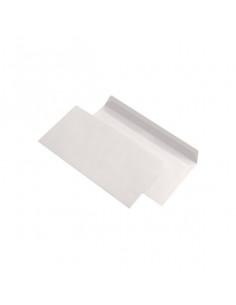 Plic DL, alb, siliconic, fara fereastra, 75g/m², 110 x 220 mm