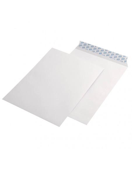 Plic B4, alb, siliconic,fara fereastra, buzunar, 100g/m², 250 x