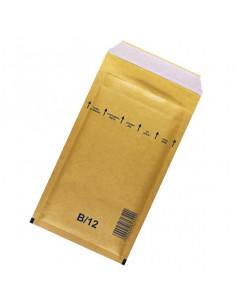 Plic antisoc B12 Airpro Brown 2/12/B, Maro, Dimensiune Exterioara 140 x 225 + 50 mm, Dimensiune Interioara 115 x 215 mm