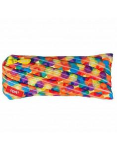 Penar cu fermoar, ZIPIT Colorz Jumbo - multicolor flori mici