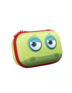 Penar cu fermoar, ZIPIT Wildling Storage box - verde