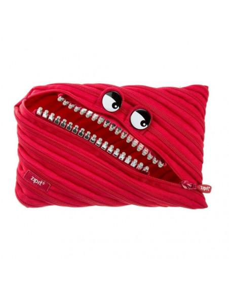 Penar cu fermoar, ZIPIT Grillz Monsters Jumbo - rosu cu dinti