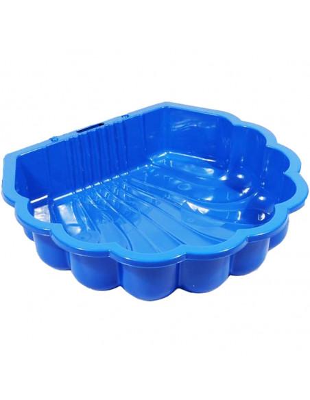Cutie Pentru Nisip Scoica, Albastru