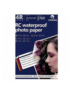 Hartie foto Yesion Ultra Glossy 4R RC, 260 g/mp, 20 coli/pachet