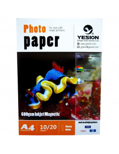 Hartie foto Yesion Magnetic Glossy A4, 680 g/mp, 20 coli/pachet