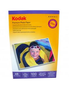 Hartie foto Kodak Premium Glossy 4R, 230 g/mp, 100 coli/pachet