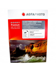 Hartie foto Agfa Glossy A4, 240 g/mp, 20 coli/pachet
