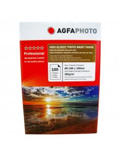 Hartie foto Agfa Ultra Glossy 4R RC, 260 g/mp, 100 coli/pachet