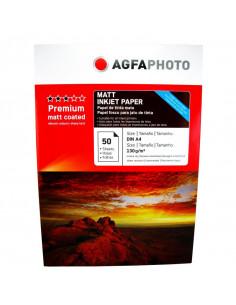 Hartie foto Agfa Matte A4, 130 g/mp, 50 coli/pachet