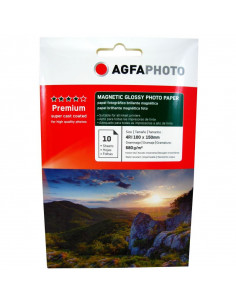 Hartie foto Agfa Magnetic Glossy 4R, 680 g/mp, 10 coli/pachet