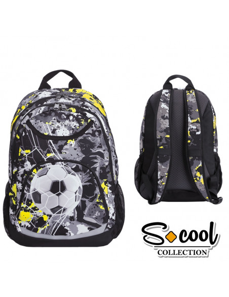 Ghiozdan Compartiment Laptop, TEAM LEADER, 43,5x32x15cm - S-COOL