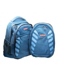 Rucsac Herlitz Massa 2 In 1 Cu Doua Compartimente, Compartiment Pentru Laptop, 46 x 34 x 22.5 Cm, Blue