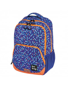 Rucsac Herlitz Be.Bag, Model Be.Freestyle, 45 x 32 x 20 Cm, Motiv Confetti + Stilou Gratis