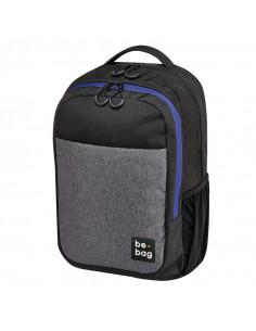 Rucsac Herlitz Be.Bag, Model Be.Clever, 43 x 30 x 18 Cm, Culoare Gri + Stilou Gratis
