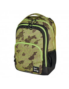 Rucsac Herlitz Be.Bag, Model Be.Ready, 46 x 33 x 23 Cm, Motiv Abstract Camouflage + Stilou Gratis