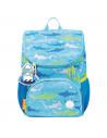 Ghiozdan Herlitz Mini Little Travelers Plus, Motiv Blue Aquarium