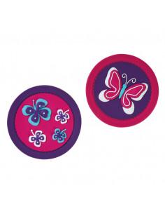 Ghiozdan Herlitz Echipat Softflex Plus, Motiv Butterfly