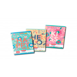 Set 10 caiete Herlitz Feelings A5, Dictando,48 File