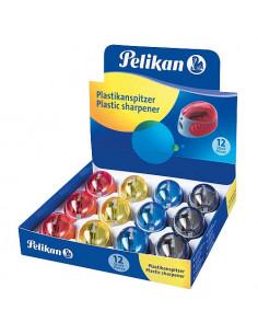 Ascutitoare Plastic Cu Container, Diverse Culori, Pelikan