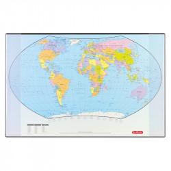 Mapa Birou 68 Cm x 44 Cm Harta Lumii