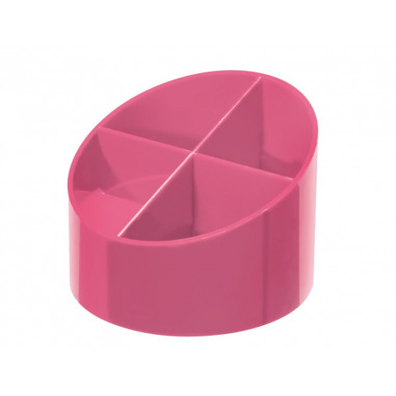 Suport Plastic Pentru Instrumente De Scris, Rotund, 4