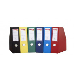 Suport Dosar Exterior PP, Pliabil, Cu Buzunar Pentru Eticheta