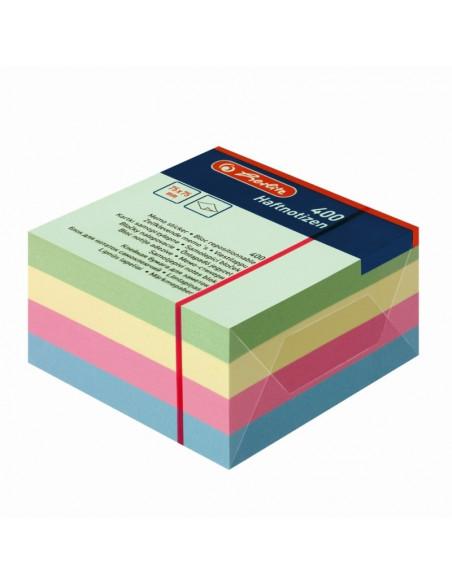 Bloc Notite Adezive 75X75Mm 100Filex4 Culori Pale Asortate
