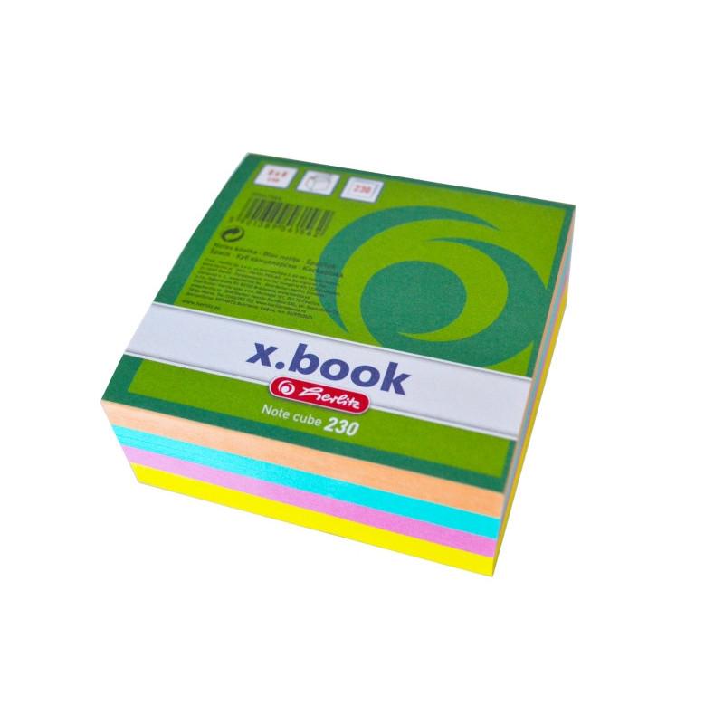 Bloc Notite Color 8X8X3 Cm 230 File