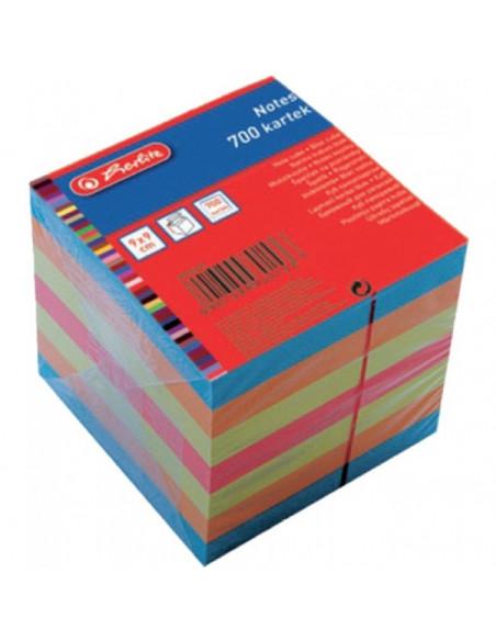 Bloc Notite Color 9X9X9 Cm 700 File
